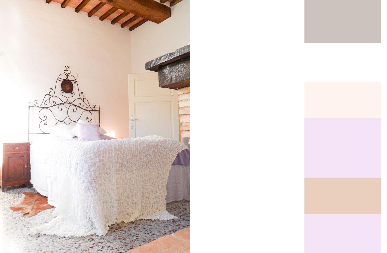 Yvonne C. H. Heinemann Projekt Ferienwohnung Italien Schlafzimmer