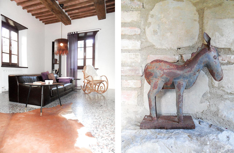 Yvonne C. H. Heinemann Projekt Italien Ferienwohnung Wohnzimmer