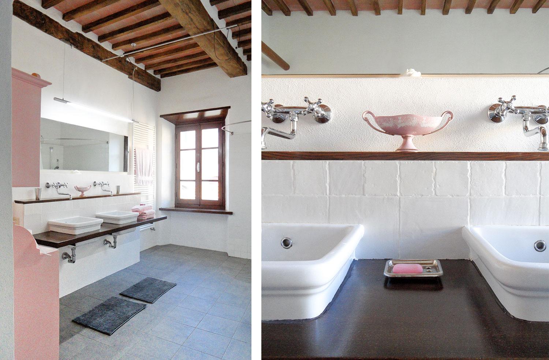 Yvonne C. H. Heinemann Projekt Italien Ferienwohnung Badezimmer